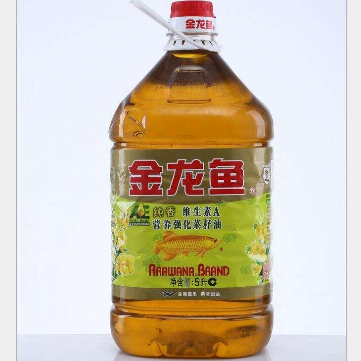 W   金龙鱼AE纯香菜籽油(非转)5L 1桶
