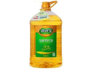 W  道道全醇香压榨菜籽油 5L 1桶