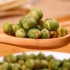 青豆蒜香青豆(香辣青豆)豌豆小包装炒货网红零食500g/混装 袋