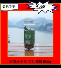 ★云阳还少堂-羊肚菌圆罐30g 罐