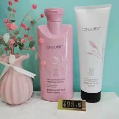 植物滋养修复调理洗发乳+植物滋养修复调理发膜