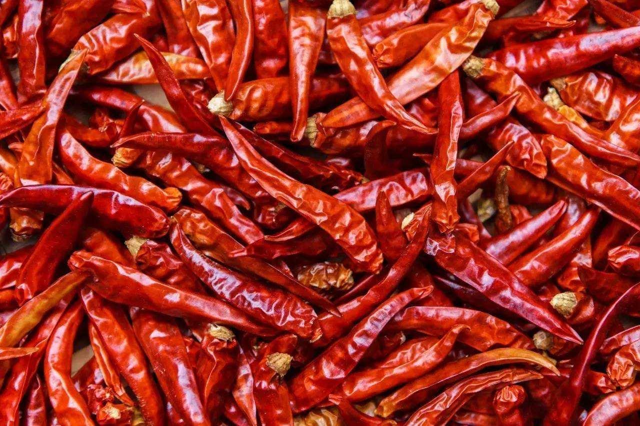 蔈草干海椒15元每斤
