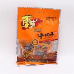 蔈草牛肉干166克(里面是独立包装)58元/包(香辣味)