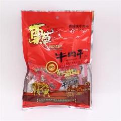 蔈草牛肉干250g(里面是独立包装)85元/包--香辣味