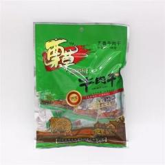蔈草牛肉干250克(里面是独立包装)85元/包(五香味)